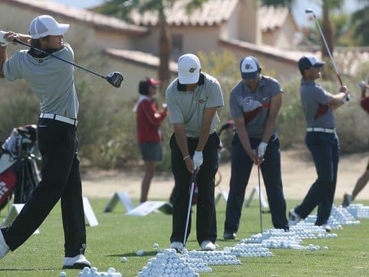 Golf Teams Taking Over the Desert