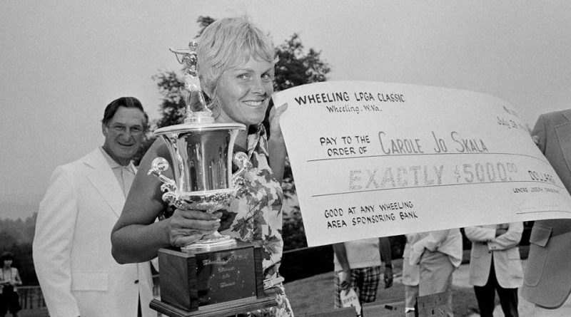 Carole Jo; one of the area's all-time golf greats