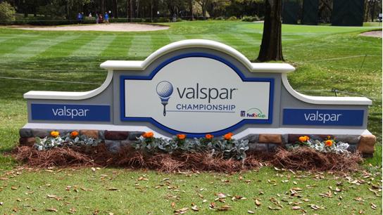 Round 3 of the Valspar Championship