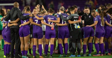 Women's Soccer Gets Motivated With Orlando Pride
