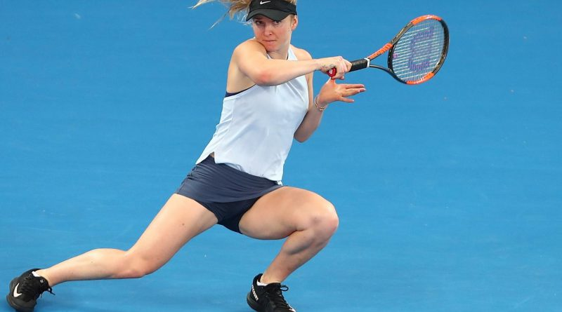 Many Are Watching Elina Svitolina Play
